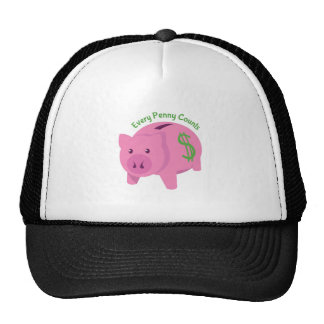 Every Penny Counts Mesh Hats