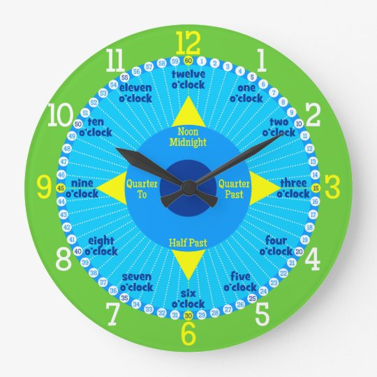 Every Second Counts - Blue & Green Learning