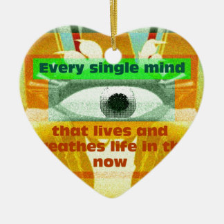Every single mind that lives and breathes ceramic heart decoration