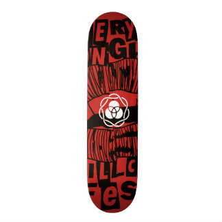 EVERY TONGUE WILL CONFESS SKATEBOARD DECK
