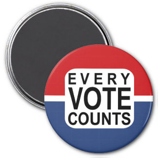 Every Vote Counts magnet