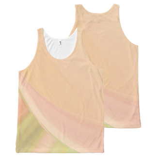 Every Which Way Peach All-Over Print Tank Top