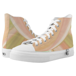 Every Which Way Peach High Tops