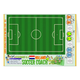 Everybody is a Holland Soccer Coach Strategy Kit Card