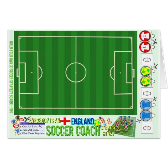 Everybody is an England Soccer Coach Strategy Kit