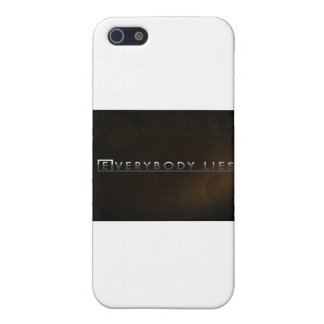 Everybody lies iPhone 5 cases