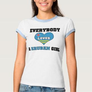 Everybody Loves a Aruban Girl Tshirt