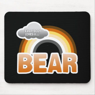 Everybody Loves a Bear Mouse Pad
