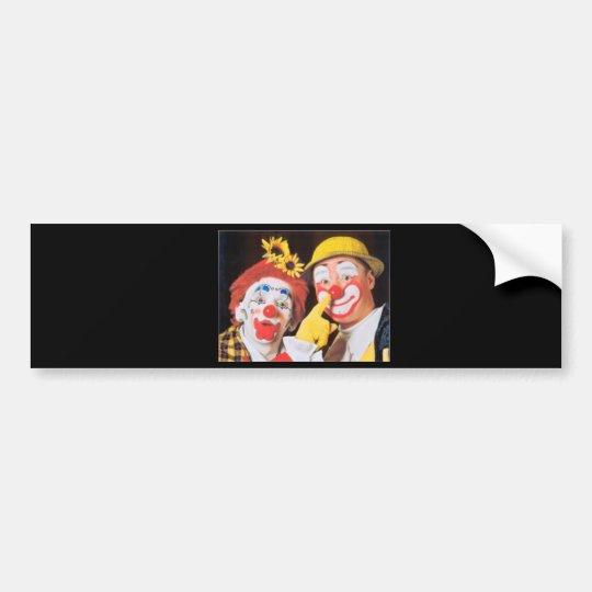Everybody Loves A Clown Bumper Sticker