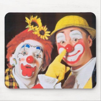 Everybody Loves A Clown Mouse Mat