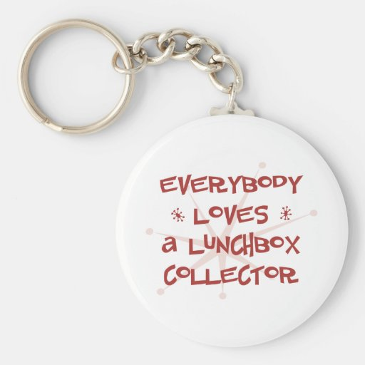 Everybody Loves A Lunchbox Collector Key Chain