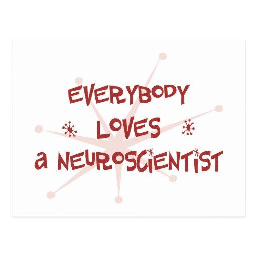 Everybody Loves A Neuroscientist Postcards