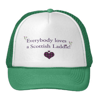 Everybody loves a Scottish Laddie! Cap