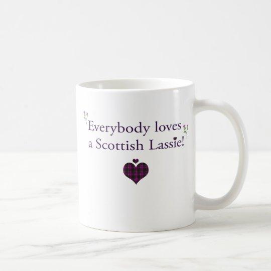 Everybody loves a Scottish lassie! Coffee Mug