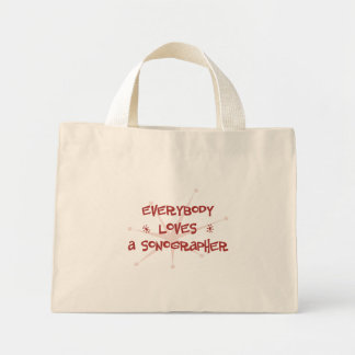Everybody Loves A Sonographer Mini Tote Bag