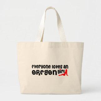 Everybody loves an Oregon Girl Canvas Bag