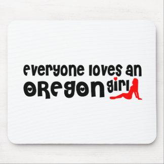 Everybody loves an Oregon Girl Mousepads