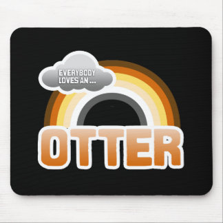 Everybody Loves an Otter Mouse Pad