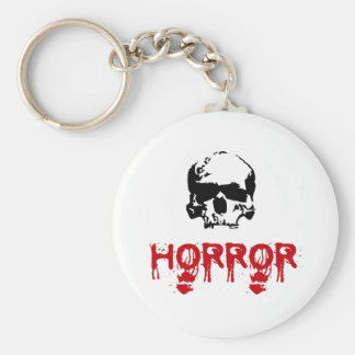 Everybody loves blood basic round button key ring