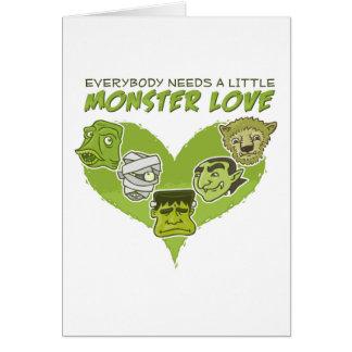Everybody Needs a Little Monster Love Card