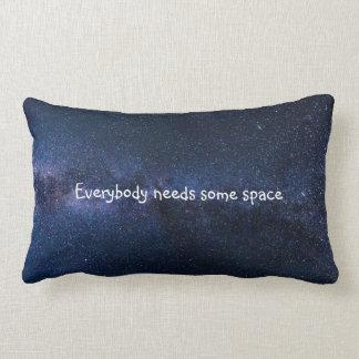 Everybody needs some space lumbar cushion