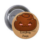 Everybody Poops Happy Poo Button