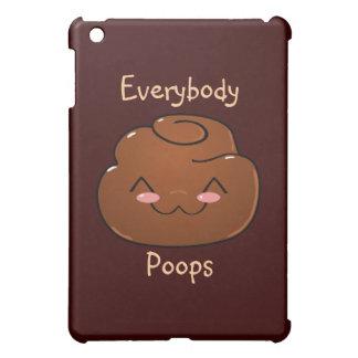 Everybody Poops Happy Poo iPad Case