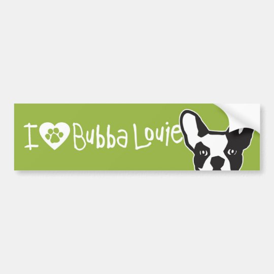 Everybody's Favourite Bubba Bumper Sticker
