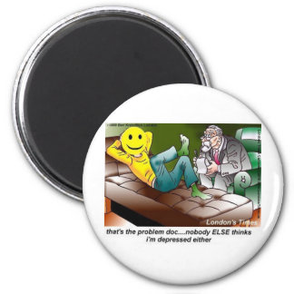 Everybody's In Therapy Funny Tees Mugs Cards Gifts Refrigerator Magnets