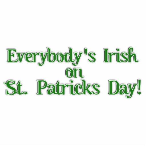 Everybody's Irish...Text Image Photo Cutouts