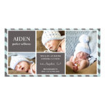 EVERYDAY BABY | BIRTH ANNOUNCEMENT CUSTOMISED PHOTO CARD