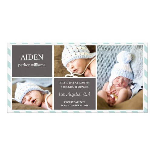 EVERYDAY BABY | BIRTH ANNOUNCEMENT PHOTO GREETING CARD