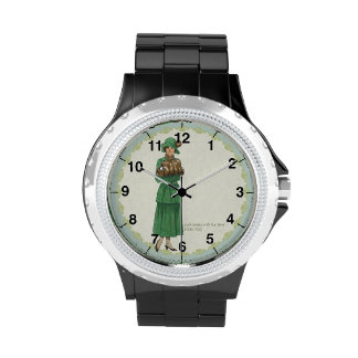 Everyday Fashions: Suite Dress Wristwatches