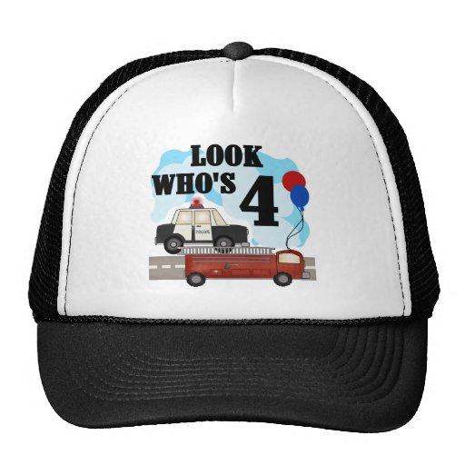 Everyday Heroes 4th Birthday Mesh Hat