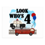 Everyday Heroes 4th Birthday Post Card