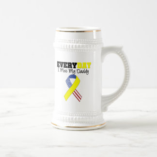 Everyday I Miss My Daddy Military Coffee Mugs