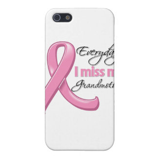 Everyday I Miss My Grandmother Breast Cancer iPhone 5 Cases