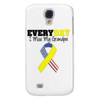 Everyday I Miss My Grandpa Military Samsung Galaxy S4 Case