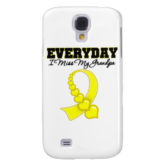 Everyday I Miss My Grandpa Military Galaxy S4 Cover