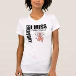 Everyday I Miss My Hero Remembrance Uterine Cancer Tshirt