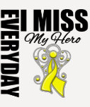 Everyday I Miss My Hero Suicide Prevention T-Shirt