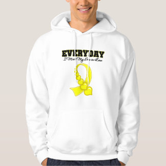 Everyday I Miss My Son-in-Law Military Hoodie