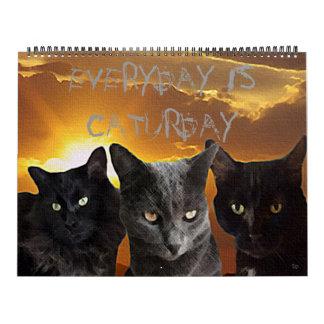 Everyday Is Caturday Calendar