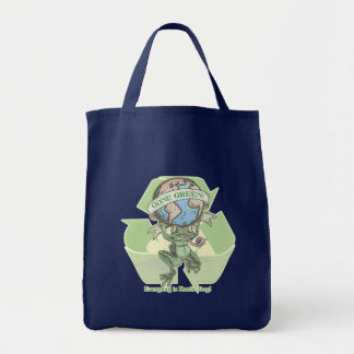 Everyday is Earthday Frog by Mudge Studios Tote Bag