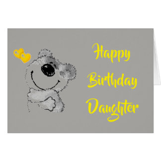 EVERYDAY IS SPECIAL---BIRTHDAY OUR ***DAUGHTER**** CARD