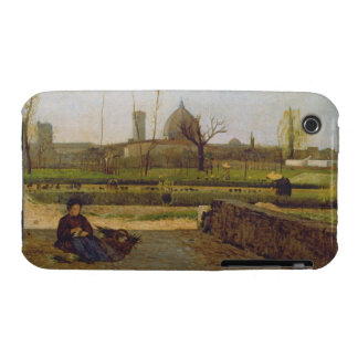 Everyday Scene, near Florence, c.1865 Case-Mate iPhone 3 Cases