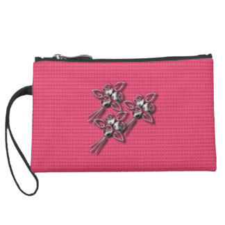 Everyday_Silver_Roses-Spring_Rose_Cluth Wristlet Clutches