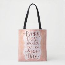 Everyday Spa Day Tote Bag