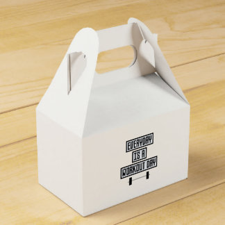 Everyday Workout Day Zge5d Favour Box