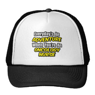Everyday's An Adventure...Oncology Nurse Mesh Hats